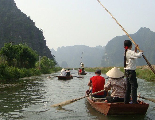 Full Day Citadels, Karsts & Cycle in Ninh Binh -  From Hotel Inside Hanoi City Only